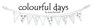 Colourful days banner