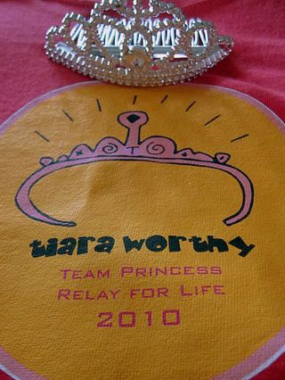 Tiara worthy at relay