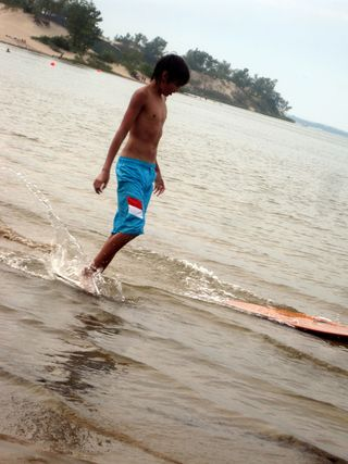 Sandbanks 2011 wipeout 1